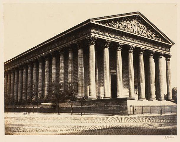 BALDUS Edouard Denis. La Madeleine, papier albuminé, 2e moitié 19e siècle.