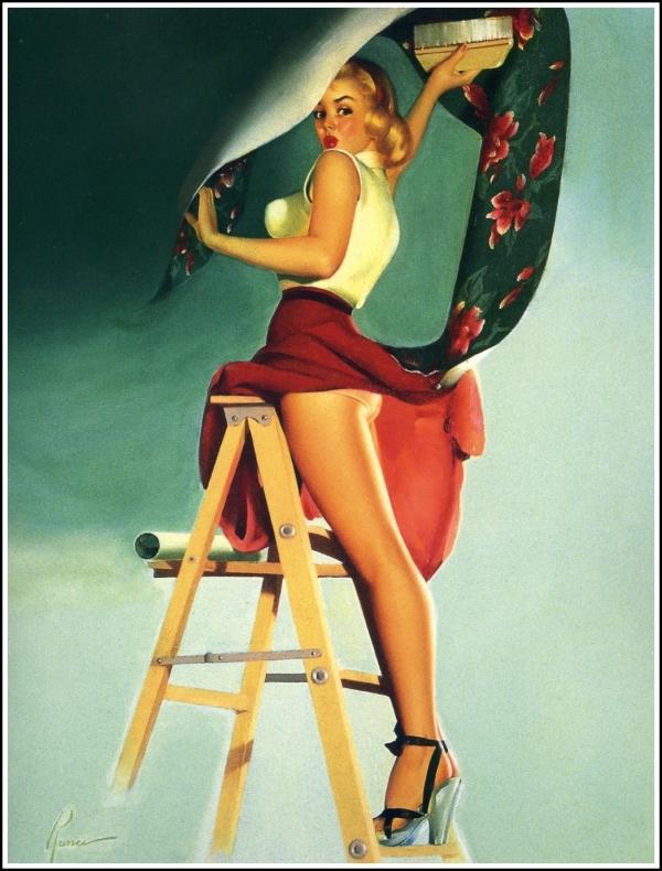 Pin'up de Runci, 1950