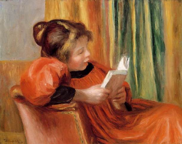 Renoir, La lecture (A Girl Reading), v. 1890, Museum of Fine Arts, Houston