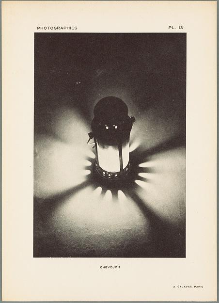 STUDIO CHEVOJON, Lanterne, phototypie
