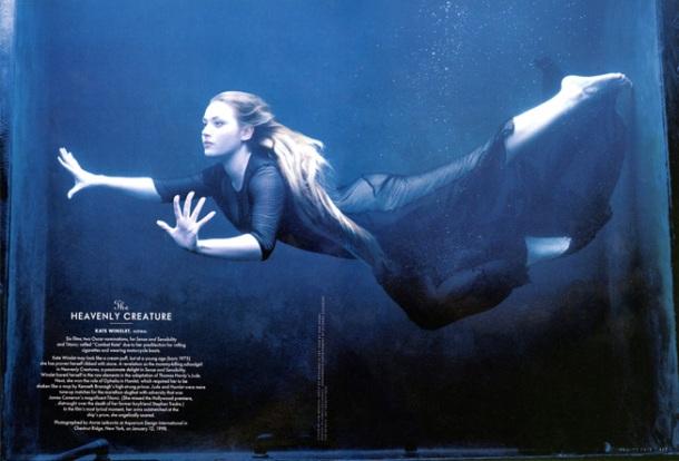 Vanity Fair Avril 1998 Kate Winslet par Annie Leibbovitz