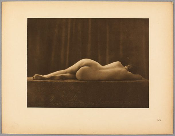 OSTROROG Stanislas Julien dit WALERY. Nu féminin, vers 1925, héliogravure