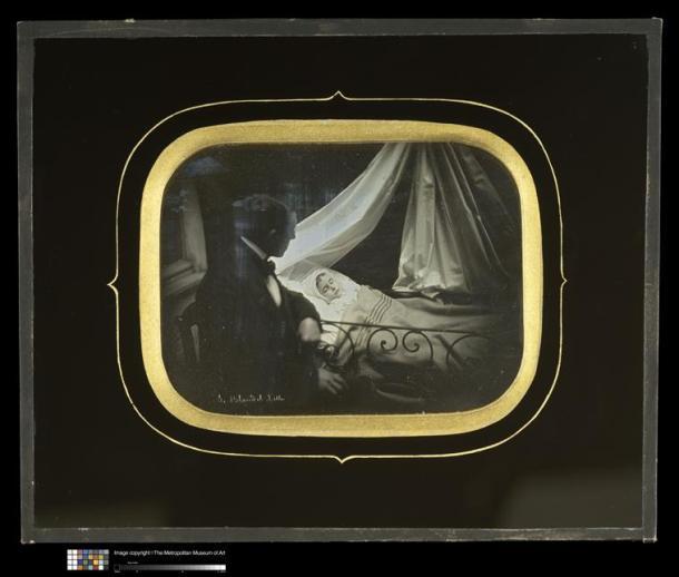 Alphonse Le Blondel, post-mortem, 19e siècle, daguérrotype