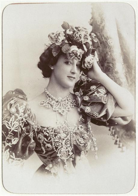 Charles Reutlinger, La Belle Otero ( 1868-1965) artiste de variétés, courtisane,  vers 1900