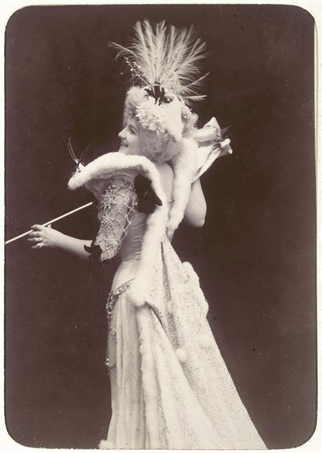 Charles Reutlinger, Portrait de Lise Fleuron, actrice, v.1900