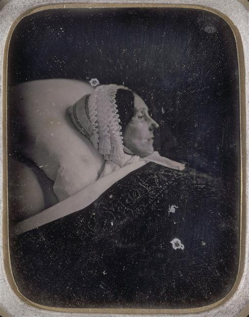 Daguérrotype post-mortem, 19e siècle