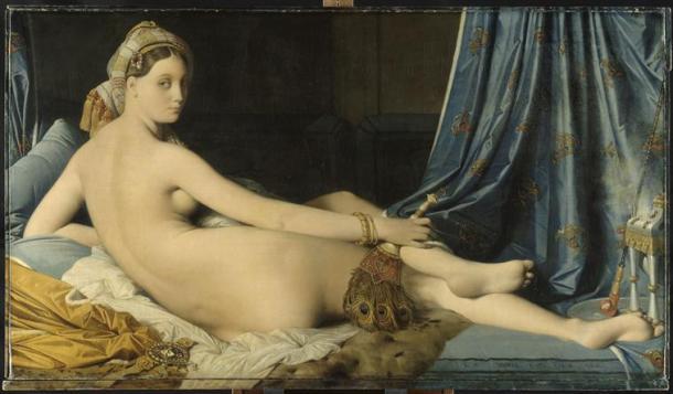 Ingres, La grande Odalisque, 1819, Louvre