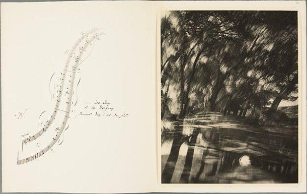 Laure Albin-Guillot, Les sons et les parfums tournent dans l'air du soir, 1948, tirage au charbon