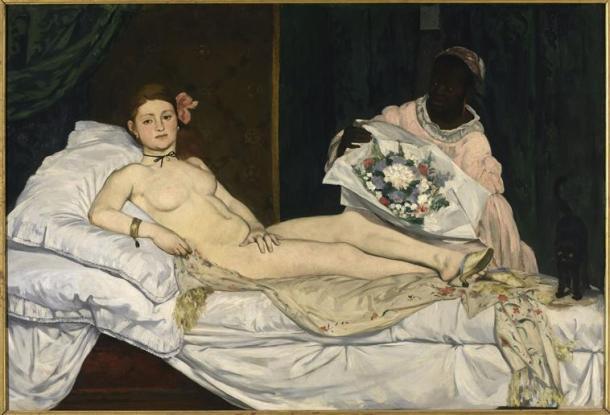 Manet, Olympia, 1863, Musée d'Orsay, Paris