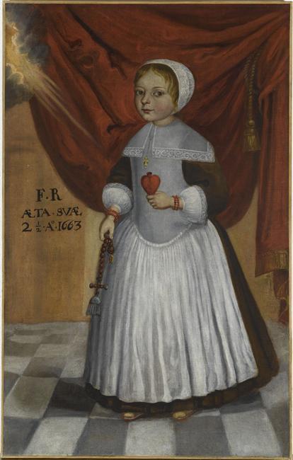 Portrait posthume d'une fillette, 1663, Magny-les-Hameaux, Musée de Port Royal des Champs