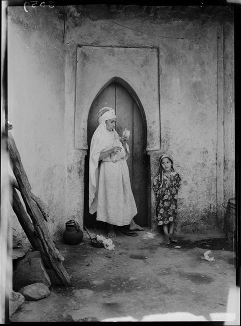 René Giton dit René-Jacques, Vallée du Khémis en Algérie, 1954