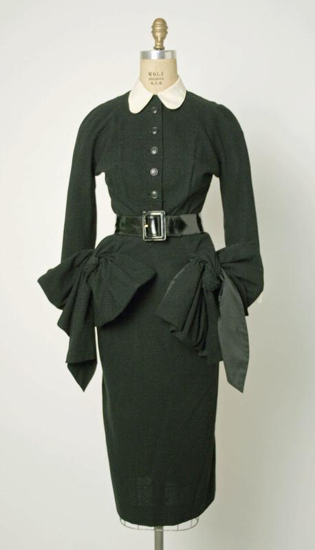 Robe garçonne du stymiste français Jacques Fath, 1949-1950, MET, NY