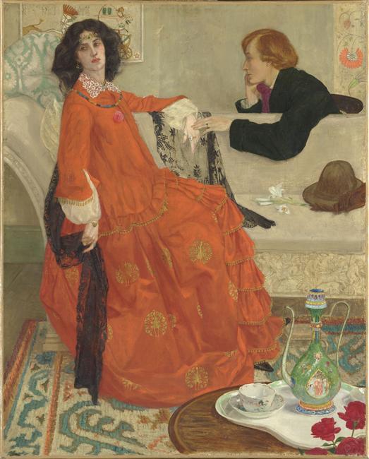 Faustine_Maxwell Armfield_1900_1904_Musée d'Orsay_ Paris