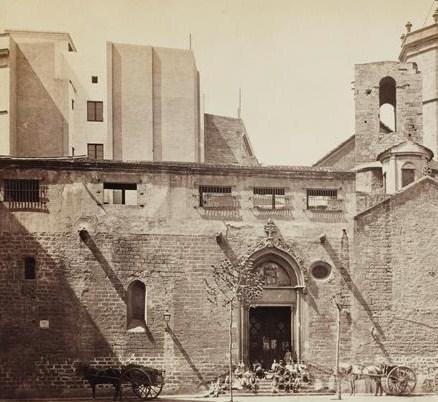 Barcelone_Eglise St Pierre_Juan Laurent_1870_Paris_musée d'Orsay
