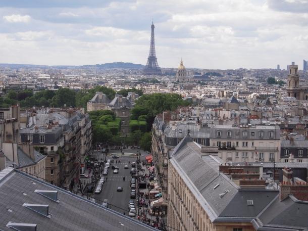 Vue du Panthéon_Paris_2011