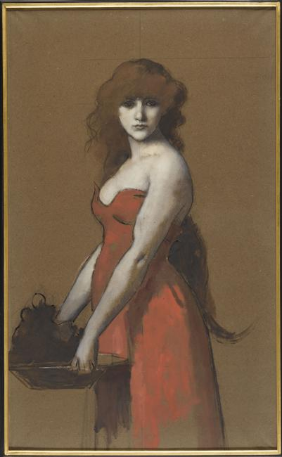 Hérodiade_ Henner_19e siècle_Musée Henner_Paris