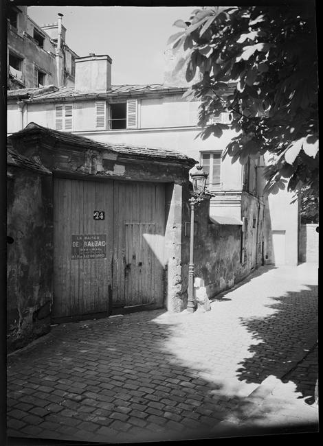 Maison de Balzac à Passy, Paris, 1946, Giton René, Médiathèque de l'architecture et du patrimoine