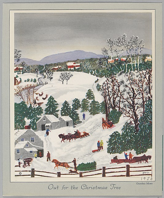 Out for the Christmas Trees_1956_MET_The Jefferson R. Burdick Collection