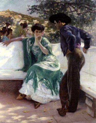 Pierre Ribera, La conversation