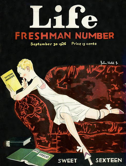 Freshman Number_Sweet Sexteen_Life Magazine_1926_John Held