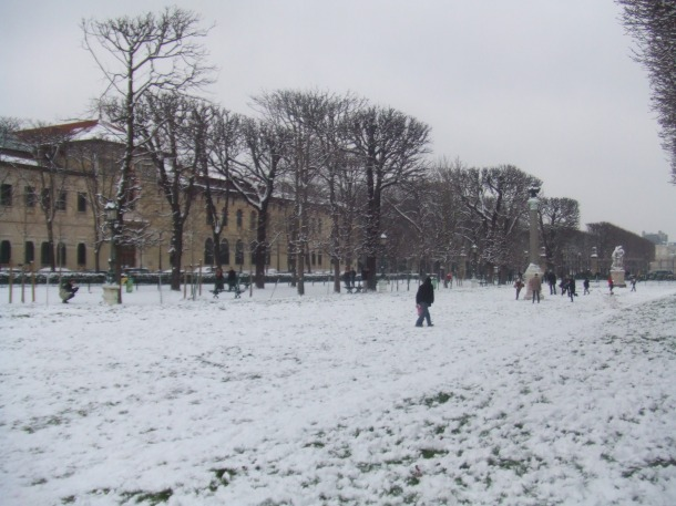 Paris, Jardin des grands explorateurs Marco Polo et Cavelier-de-la-Salle